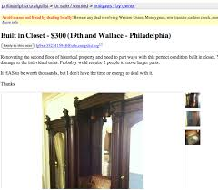 my best craigslist find this giant antique wardrobe came out of a philadelphia mansion