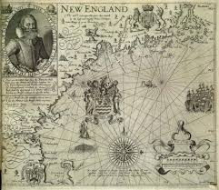 john smith coined the term new england on this 1616 map history Map Of Voyage From England To Jamestown john smith coined the term new england on this 1616 map history smithsonian England to Jamestown VA Map
