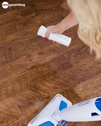 5 and for those days when you want to ensure that your floors are extra clean i like to use vinegar in conjunction with the steam mop i just spray white