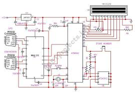 gsm circuit diagram ireleast info 8051 vehicle tracking system using gps and gsm modem wiring circuit