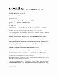 Pharmacy Manager Resume Job Resume Resume Management System Sample