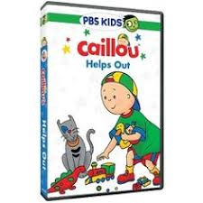 review by tessa42484 caillou helps out on dvd new kids s caillou