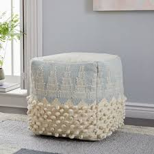 West Elm Pouf Review