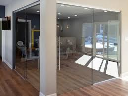 view larger image sliding glass barn doors with fixed panel