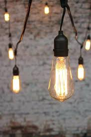 edison light strings solar lights on a string light globes squirrel cage filament bulbs on a
