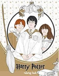 Harry Potter Coloring Book Scholastic 9781338029994 Amazoncom Books