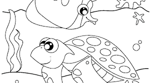 Ocean Coloring Page Treasures In The Ocean Adult Coloring Pages By