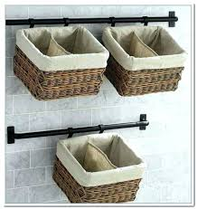 elegant wall mounted baskets wall mounted baskets hanging basket for storage wall mounted baskets wall mounted