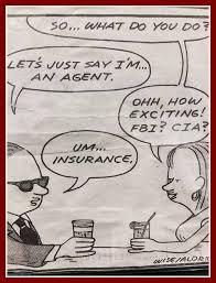 just an insurance agent
