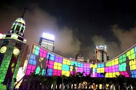 Hong Kong Pulse 3D Light Show