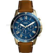 "men s fossil grant sport chronograph watch fs5268 watch shop comâ""¢ mens fossil grant sport chronograph watch fs5268"