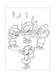 Little Einstein Muziek Maken Little Einstein Kleurplaten
