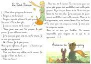Image of Le petit prince extrait