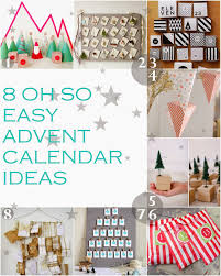 easy calendars curious and catcat diy advent calendars eight easy ideas