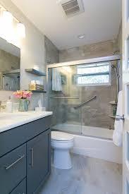 gray bathroom vanity. Image By: MJ Designs Gray Bathroom Vanity I