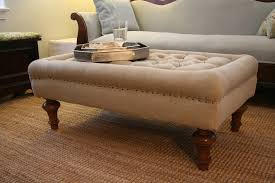 Full Size of Sofa:good Looking Upholstered Footstool Coffee Table Diy  Ottoman Sofa Outstanding Upholstered ...