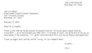 Acceptance Letter For Offer Job Offer Email Template Acceptance Letter Sensational