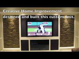 Small Picture Custom Built Entertainment Center YouTube