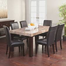 kitchen table sets vancouver with east west furniture 8 piece oval dining set oak