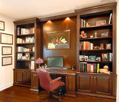 ... Charming Wall Unit With Built In Desk Wall Unit Computer Desk White  Storage ...