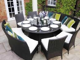 Round Kitchen Table For 8 Dimensions Round Dining Room Table Collective Dwnm