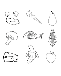Healthy Food Coloring Sheets Healthy Food Coloring Sheets Lifestyle