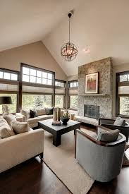 orb light fixture family room transitional with barrel back chairs beige beeyoutifullife com