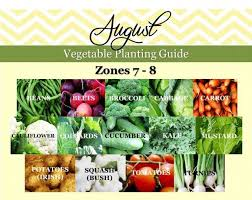 fall planting zone 7b. vegetable planting guide | gardening zone 7 and 8 fall 7b n