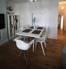 Used Folding Dining Table Wall Mounted White In E17 London For Extremely  Designs