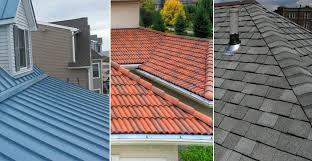 Metal Roofing vs Roof Shingles vs Roof Tiles vs Slate Roof Comparison