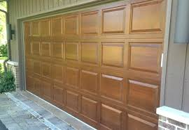wood stained garage doors how to gel stain metal garage door painted faux stained doors custom