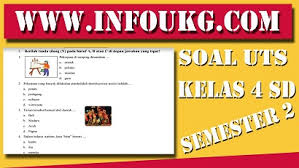 Feb 01, 2020 · contoh soal matematika kelas 4 sd semester 2. Soal Uts Kelas 4 Sd Semester 2 Kurikulum 2013 Revisi 2017 Dan Kunci Jawaban Ops Sekolah Indonesia
