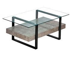 clear glass light concrete finish matt