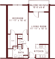 The Steeplechase Floorplan