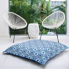 outdoor floor cushions. Digitally Printed With Premium Inks On Thick, Soft, Water Resistant And Durable Fabric. SAF Large Floor Cushion Cover. From 135.00 Outdoor Cushions L