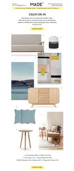 furniture design layout. E-newletter Email Newsletter Marketing Design Layout Inspiration Furniture Made Lifestyle