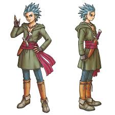 Dragon Quest Design Erik Concept From Dragon Quest Xi Echoes Of An Elusive Age
