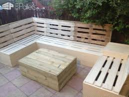 Pallot Furniture Patio Pallet Furniture 1001 Pallets