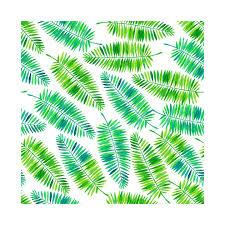 Palm Leaf Pattern Extraordinary Watercolor Palm Leaves Pattern Palm Leaf TShirt TeePublic
