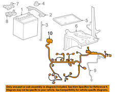 toyota yaris charging starting systems toyota oem 07 11 yaris 1 5l l4 battery engine wiring harness 8212152b10 fits toyota yaris