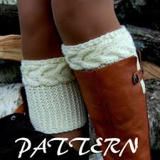 Boot Cuff Pattern Classy Shop Cable Boot Cuff Pattern On Wanelo
