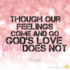 God's Love Quotes CS Lewis Quote 24 Reasons You Should Trust In God's Love 3