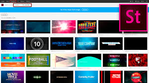 All About Motion Graphics Templates Mogrts From Adobe