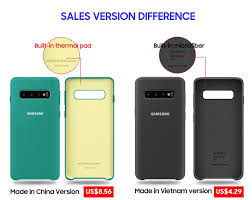 <b>SAMSUNG</b> S10 Case <b>Original</b> Silicone Made in Vietnam version ...
