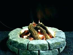 fake fire logs for gas fireplace diy