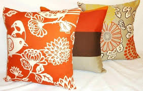orange accent pillows. Burnt Orange Decorative Pillow Awesome Throw Pillows And Image Of Teal . Accent
