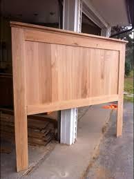 Reclaimed Oak headboard