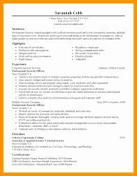 Security Guard Resume Examples Stunning Security Guard Resume Skills Resume Design