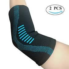 Amazon Com Jforu Fitness Elbow Brace Compression Sleeve 1
