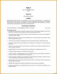 Business Resume Template Elegant Sample Resume For Administrative